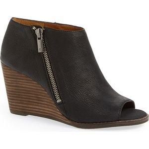 Lucky Brand Jaspah Wedge booties